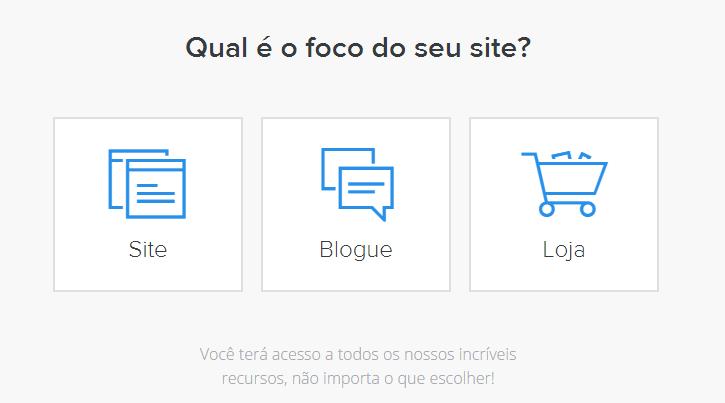 Foco Site Criador de Sites Weebly