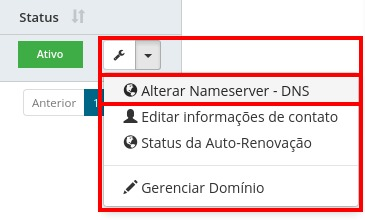 Alterar DNS - HostGator Brasil