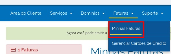 Forma de Pagamento - HostGator Brasil