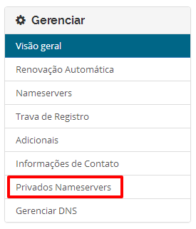 DNS Internacional HostGator
