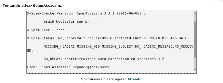 SpamAssassin 3