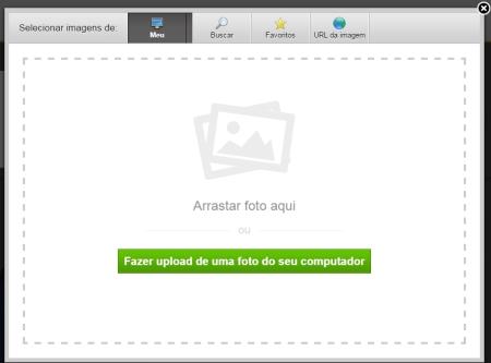 Upload de um logotipo para seu site Weebly