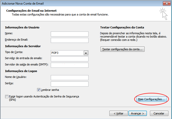 Outlook 2010 HostGator